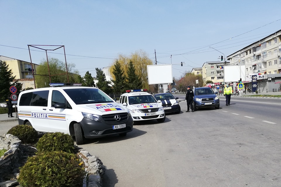 Razie în Balş. 12 şoferi au fost depistaţi băuţi la volan