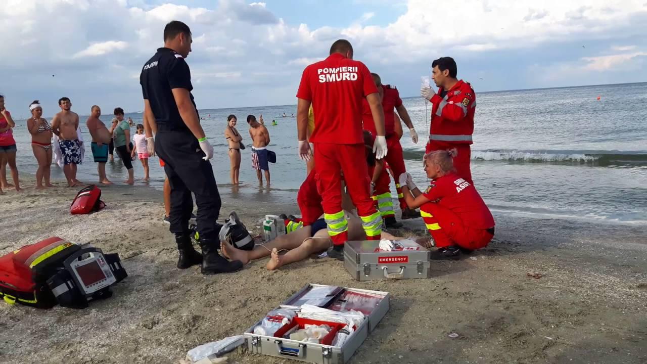 Un tânăr de 19 ani s-a înecat în staţiunea Costineşti
