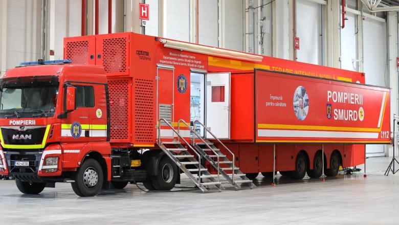 O unitate mobilă ATI cu 12 paturi va fi instalată la Spitalul de Urgenţă Pitești
