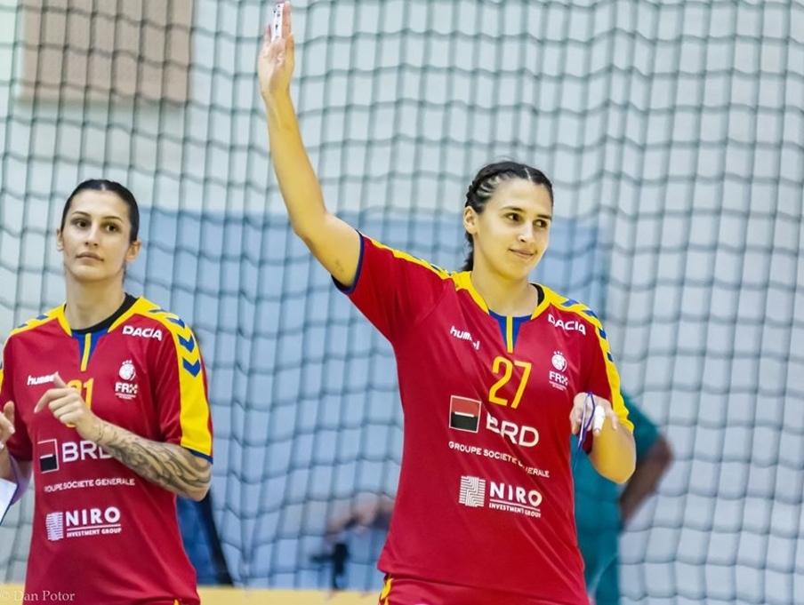 Pivotul echipei CSM Slatina, Lorena Ostase, în lotul pentru Campionatul European de Handbal