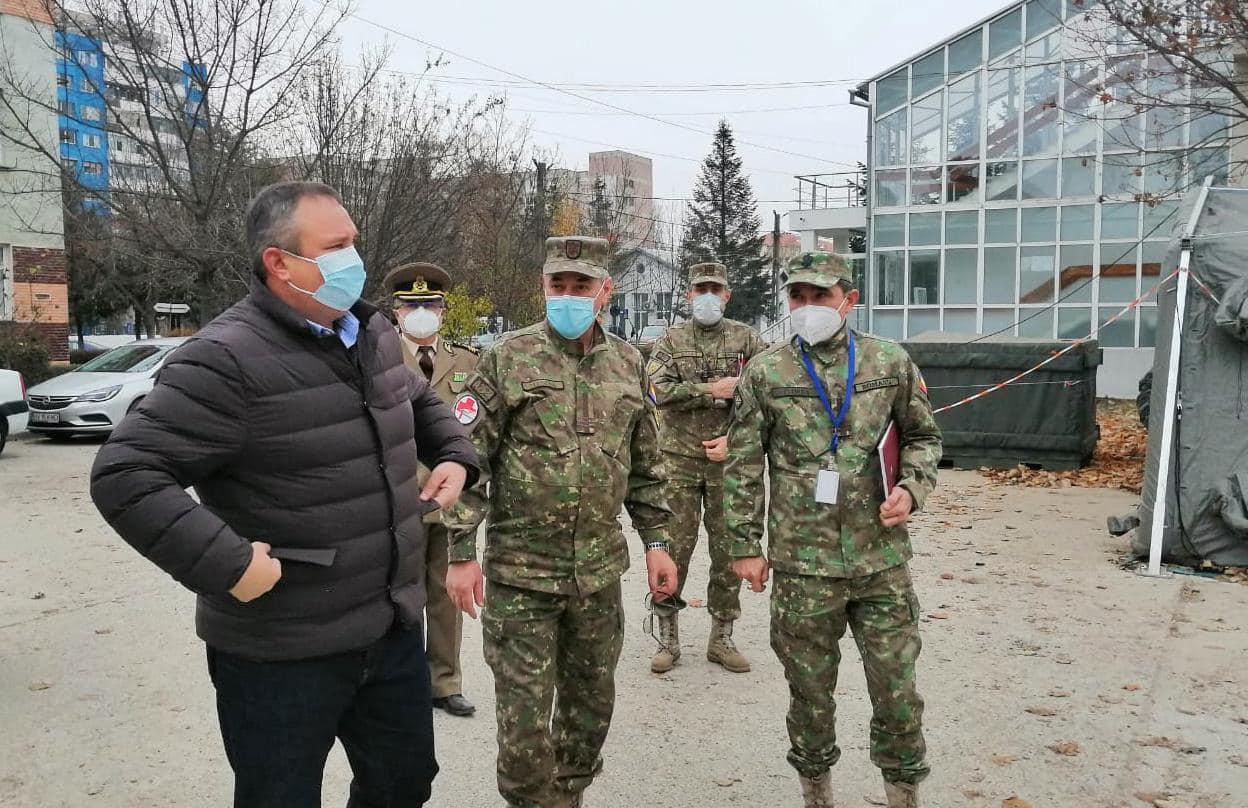 Spitalul Militar din Craiova, centru regional de vaccinare anti-COVID