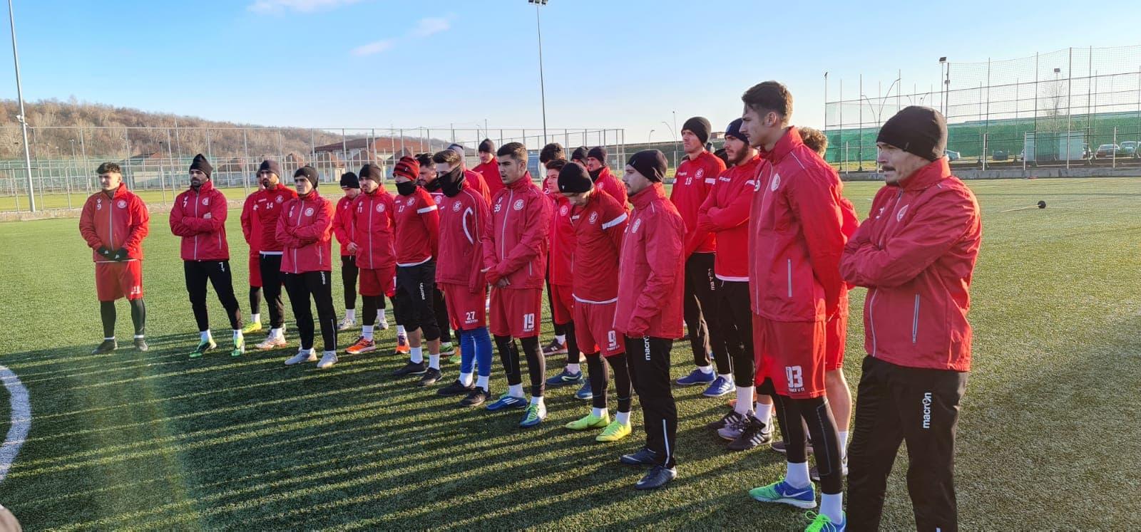 FOTO. CSM Slatina a dat startul pregătirilor în vederea abordării meciurilor oficiale, care vor începe pe 20 februarie